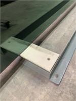Large HD Welded Steel Glass Stock Rack