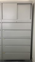 Modern Upright Lateral Filing Cabinet