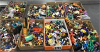 8 Flats Of Toys, Action Figures