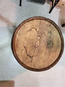 Retro Teak Tv Kast.Vintage Wooden Whiskey Barrel 23 X 18 Other Items For Sale 1