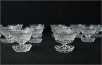 Cut glass crystal Collection 17 pcs.