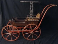 Handpainted Antique Child's Buggy