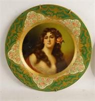Anheuser-Busch advertisement portrait tin plates