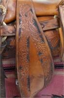 Rudy Medina for Texican Saddle Co. western saddle