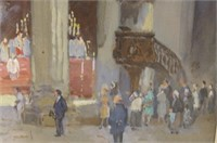 Colin Campbell Cooper Cathedral gauche