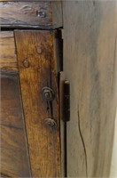 19th Century 2 door cabinet with shelves