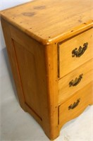 Early Antique American Pine Chest circa 1860