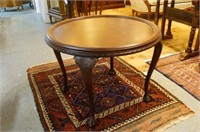 Chippendale mahogany round  center Table