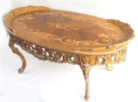 French inlaid Coffee Table