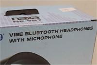 NAXA NE-957 VIBE Bluetooth Headphones w Microphone