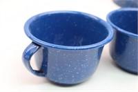 Blue Enamelware Farmhouse KitchenWare Pcs