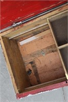 Vtg. Carpenters Wood Crate Box