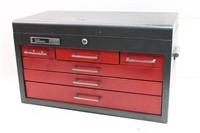 MASTER MECHANIC 6-Drawer Metal Tool Box with