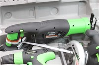 KAWASAKI 18 Volt Cordless Combo Kit in Case