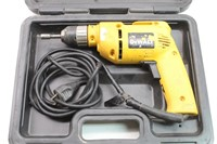 "DeWalt DW1063/8"" VSR Drill, 5.4 AMP in Case"