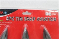 ATE PRO USA 3Pc Tin Snap Aviation