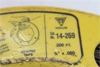(3) Fish Tape Reels