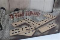 (28) Giant Wood DOMINOES Set