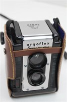 (2) Vtg. Cameras with Leather Cases