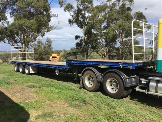 2003 Barker Heavy Duty Drop Deck - Trailers for Sale