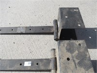 Pair of 3' Strap Hinges for Large Gate/ Barn Door