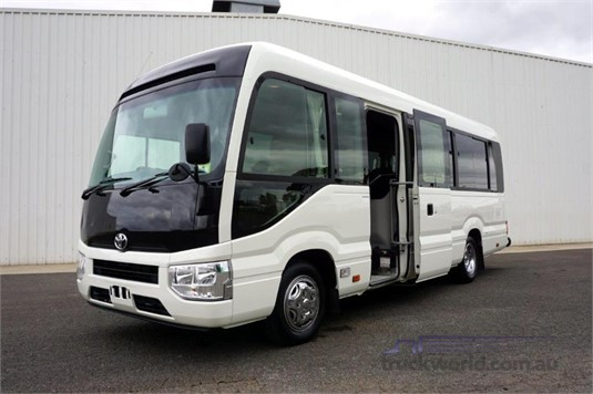 2018 Toyota Coaster Deluxe - Buses for Sale