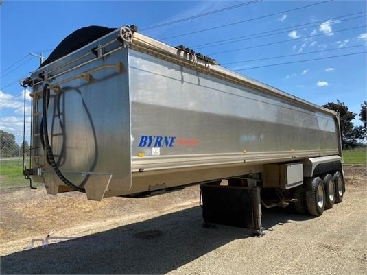 2010 Byrne Alloy Tipper - Trailers for Sale