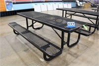 Metal Picnic Table w/Thermoplastic Coating,