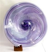 Stephen Fellerman  Art Glass Monumental bowl