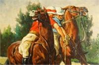 Domingo Domingo (born 1942) oil on canvas