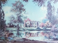 """Marty Bell Giclee """"Wakehurst Place"""""""