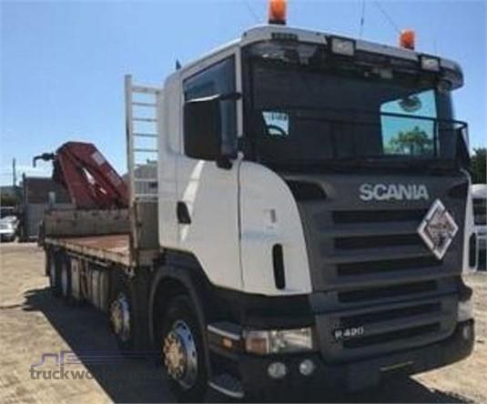 2008 Scania R420 - Trucks for Sale