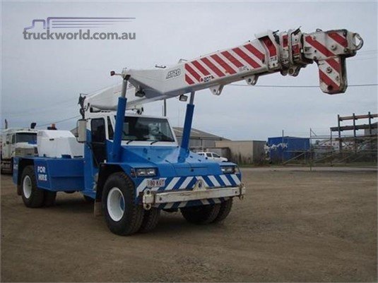 2008 Franna Crane AT20 - Cranes & Tailgates for Sale