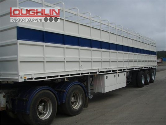 2003 Freighter Stock Crate Trailer Loughlin Bros Transport Equipment  - Trailers for Sale