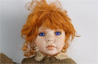 """30"""" Redhead Doll with freckles"""