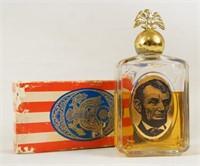 Avon 'For Him' Abraham Lincoln Pres. decanter