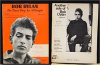 Bob Dylan Song Books, original radio score +