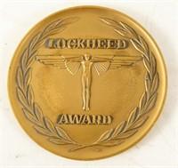 Bronze Lockheed Award Medallion