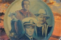 John Wayne porcelain collectors plate