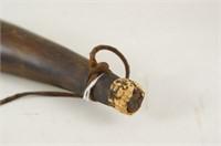 Two Antique Powder Horns circa 1780