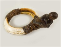 Philippines Ifugao people Boars Tusk Armlet