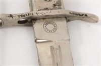 """German WWI DEMAG """"Crank Handle"""" Bayonet"""