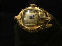 Bulova womans ring watch, working