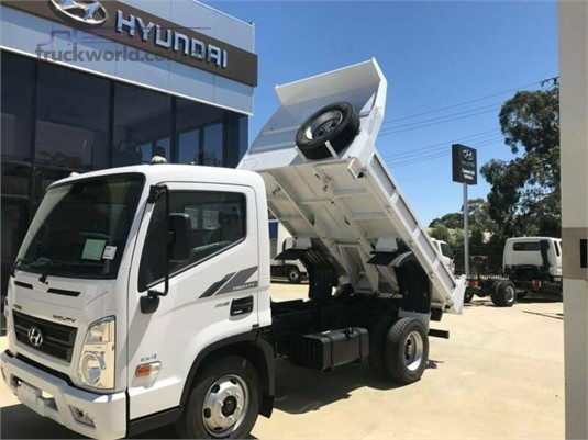 2020 Hyundai Mighty EX6 SWB Factory Tipper Adelaide Quality Trucks & AD Hyundai Commercial Vehicles - Trucks for Sale