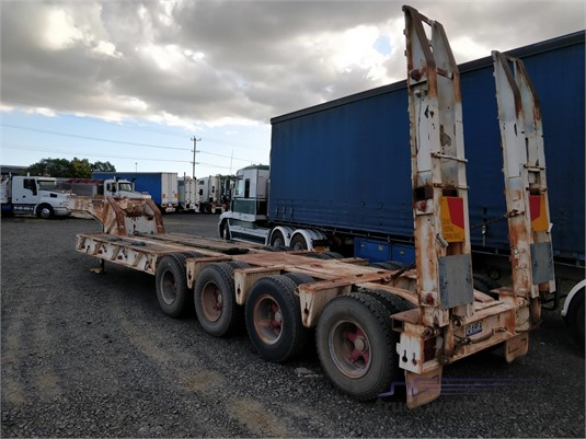 1980 Drake Quad Axle Low Loader Wheellink - Trailers for Sale