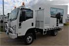 2011 Isuzu NPS 300 4x4 Crane Truck