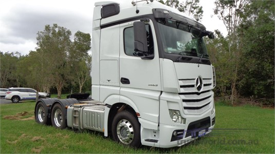 2017 Mercedes Benz Actros 2663 - Trucks for Sale