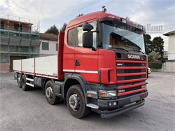 SCANIA P124G420  used