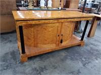 Art Deco exotic wood cabinet
