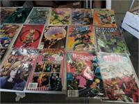 Box of comic books
